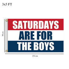 US Stock Saturdays Are For The Boys 3x5 Ft Flag Banner#SAFTB FREE SHIPPING