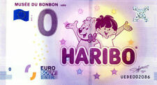 30 UZES Musée du bonbon Haribo 2, 2018, Billet 0 Euro Souvenir