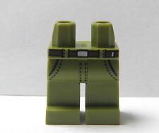 LEGO 1 gambe GAMBA PER minifigura Figura Salvia Verde Jeans da combattimento Ranger Soldato
