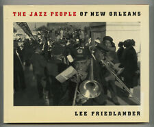 New listing 1989 Lee Friedlander The Jazz People Of New Orleans Hc-Dj 1st edition PhotoBook
