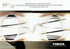PUBLICITE ADVERTISING 046  1991  Treca  lit somier à lattes  (2pages)
