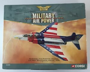 CORGI AVIATION 1:72 MCDONNELL F-4J PHANTOM US NAVY BICENTENNIAL 1976 - AA33206