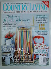 Country Living Magazine. August, 2004. Issue No. 224. Design a dream hideaway.