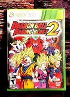 Dragon Ball: Raging Blast 2 - XBOX 360 - Microsoft XBO 360 - Brand NEW - Sealed