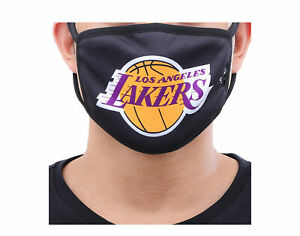 Pro Standard NBA Los Angeles Lakers Face Covering Mask - 2 Pack BLL751490-BLK