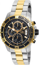 Invicta Men's Pro Diver Quartz Multifunction Black Dial Watch 22418