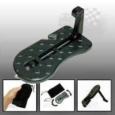 roof box luggage rack camping access wheel chock door Hook Foot step Ladder