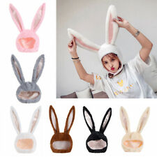 Plush Rabbit Hat Bunny Ears Hat Photography Props Holiday Party Favors Hat-