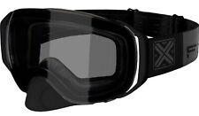 FXR Summit Spherical 21 Snow Goggles Black Ops w/Dark Gray Lens