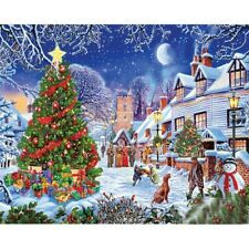 Christmas Xmas 5D Full Drill Diamond Painting Kits Embroidery Art Decors Gifts