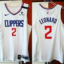 Kawhi Leonard 2019-20 Los Angeles Clippers Nike Authentic Jersey Size 52+2