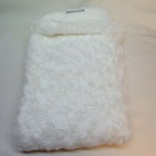 New listing Blankets & And Beyond White Swirl Plush Baby Blanket Security Lovey