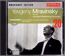 MRAVINSKY: TCHAIKOVSKY Francesca da Rimini String Serenade Capriccio Italien CD