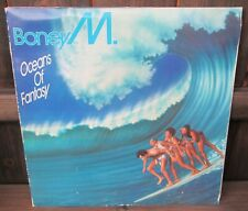 Boney M: Oceans Of Fantasy LP - 1st UK 1979 Press A4/B4 Fold-Out Gatefold Poster
