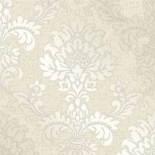 QUARTZ DAMASK WALLPAPER GOLD - FINE DECOR FD41970 GLITTER SHIMMER