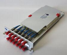 03-21-03625 Patchpanel Spleissbox R&M Glasfaser 12 x ST Buchse ALU