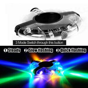 Bike Warning Hub Lights Multi Colors Bicycle Wheel Spoke Light USB Rechargeable