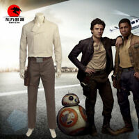 DFYM Star Wars Cosplay The Last Jedi Poe Dameron Cosplay Costume Leather Outfit