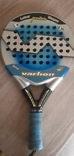 Pala de padel Varlion lethal Weapon 37mm  + funda, usada buen e