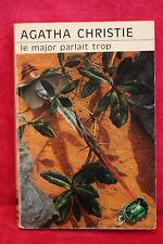 Le major parlait trop - Agatha Christie - Club Des Masques 1977