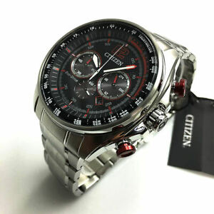 Men's Citizen Eco-Drive Solar Powered Chronograph Watch CA4190-54E