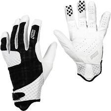 Pow Gloves Rake Glove - Men's Size Medium White Plaid - Mountain Bike BMX