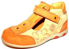 Suede Medium Width Baby Shoes with Hook & Loop Fasteners