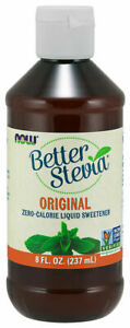 Now Foods BETTER STEVIA Original Zero Calorie Liquid Sweetener 8 fl oz