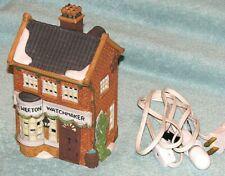 """Dept 56 Dickens Village #59269 """"Geo. Weeton Watchmaker"""" Heritage Village Collect"""