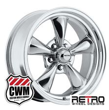 "17 inch 17x7"" Polished Aluminum Wheels Rims for Chevy Camaro 1967-1981"