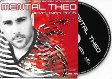 MENTAL THEO - Revolution 2005 / Every step CD SINGLE 2TR Trance Dutch CARDSLEEVE