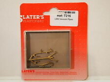 Slaters 7216 - 7mm O Gauge LMS Vacuum Pipes (1 Pair) New Pack 1st Class Post