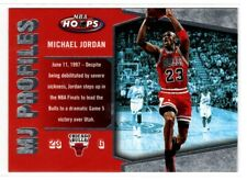 MICHAEL JORDAN BULLS  2006 FLEER NBA HOOPS MJ PROFILES #MJ-26