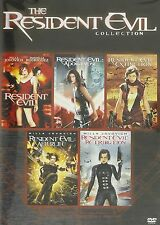 Resident Evil 1 2 3 4 5 DVD Movie Collection 1-5 BRAND NEW