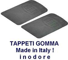 TAPPETINI IN GOMMA anteriori universali, tappeti per auto MADE IN ITALY ! Coppia