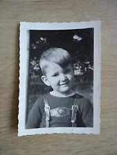 """""""BUB"""": ALTE SW-FOTOGRAFIE, ALTES SW-FOTO, 30-er JAHRE, HERKENBOSCH, NIEDERLANDE!"""