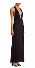 NWT Women's BCBG Chocolate Brown Full Length Maxi Dress/Gown Special Occasion