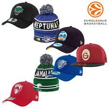 Euroleague Basketball Hat Cap Knit Wool Replica Team Sports Memorabilia Hats
