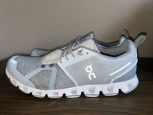 On Cloud (CloudTerry) Running Shoes CloudTec Swiss Engineering (silver) US 12