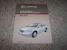 2007 Lexus ES350 ES 350 Body Shop Service Repair Manual 2008 2009 2010 2011 2012