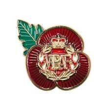 More details for wraf women's royal air force raf poppy pin