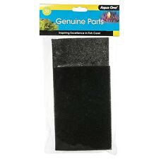 Aqua One AQUASTYLE SPONGE PAD 620/620T 2Pieces Fish Care BLACK *Australian Brand