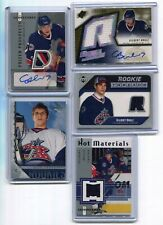 05-06  GILBERT BRULE  5 CARDS ROOKIE LOT RC AUTO PATCH /199 + JSY + YOUNG GUNS
