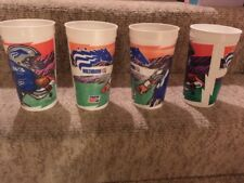 Set of 4 CFL Canadian Football League Baltimore Stallions Plastic Pepsi Cups