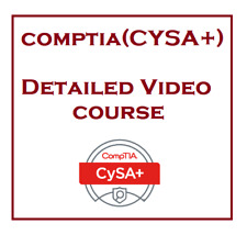 CompTIA  Cybersecurity Analyst Plus CS0-001 CySA+  detailed training course