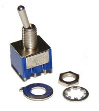 Interruptor / Switch 6 pin ON - ON 6A 125V AC x2 units