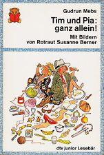 TIM et PIA: tous ALLEIN Gudrun MEBS grandes POLICES D'IMPRESSION tb (1991)