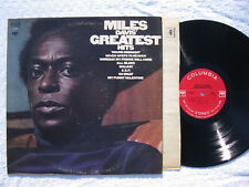 MILES DAVIS GREATEST HITS~COLUMBIA CS 9808 Stereo (VG+)