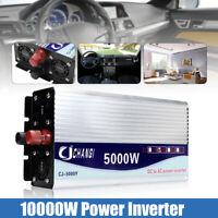 10000W Peak Modified Sine Wave Power Inverter 12V/24V/48V to 240V LCD Car  K