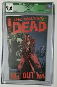 THE WALKING DEAD #121 CGC 9.6 ERROR - Super Rare! One Of A Kind! Mis-Cut Error!